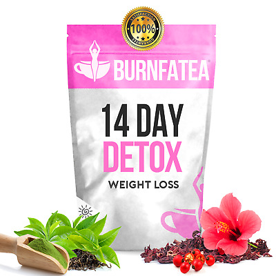 BURNFATEA - 14 DAY MORNING DETOX TEA (Herbal Slimming Tea, Skinny Tea, Detox Tea