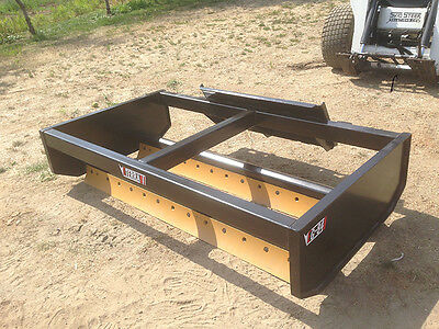 Skid Steer Box Grader - Eterra EG-72 Box Grader - Gravel Road and Path Grader