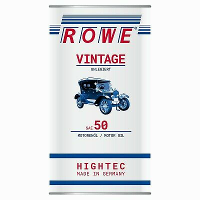 rowe hightec vintage sae 20w 50 mild legiert oldtimer motor l 2 x 5 liter eur 54 50 picclick es. Black Bedroom Furniture Sets. Home Design Ideas
