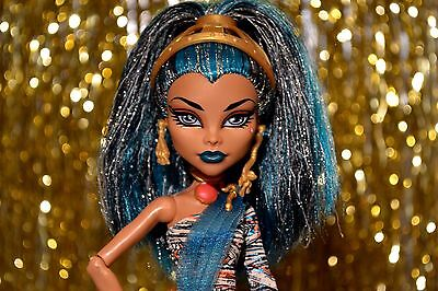 Monster High Nefera De Nile WITH RING and NO GREASY HAIR!!! euc