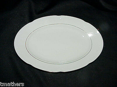 Southington Baum Brothers Golden Rhapsody Oval Platter