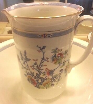 Large Antique White Ironstone Pitcher - Winton Ware England
