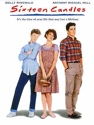 SIXTEEN CANDLES Movie POSTER