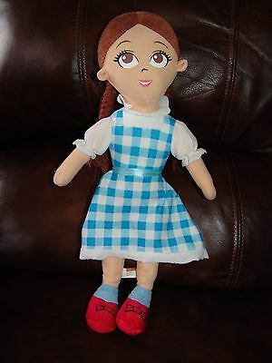 The Wizard of Oz Dorothy Plush Doll 15 1/2""