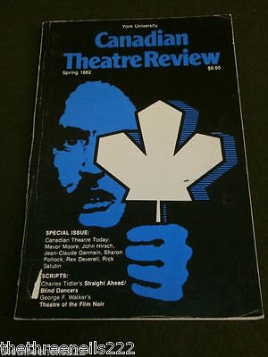 Canadian Theatre Review - Spring 1982 - Blind Dancers