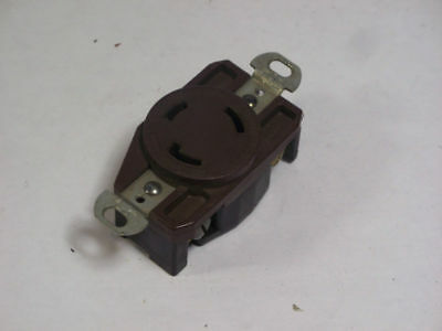 Arrow Hart AHL530R Twist-Lock Receptacle 30A 125V 2P 3W  USED