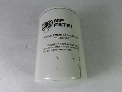 MP Filtri CSG50P25A Filter Element  USED
