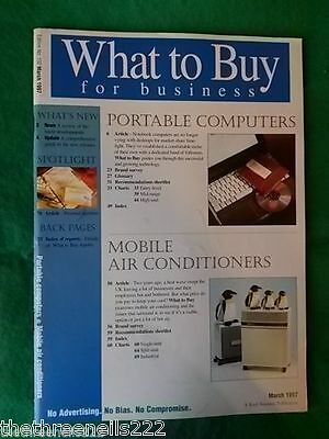 What To Buy For Business #192 - Mobile Air Conditioning - March 1997