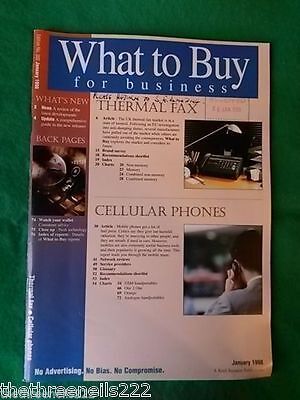 What To Buy For Business #202 - Thermal Fax - Jan 1998