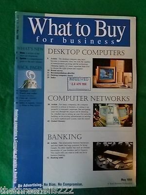 What To Buy For Business #206 - Banking - May 1998