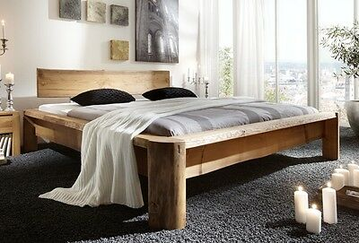 tundra massivholzbett 180x200 cm bett kiefer massiv. Black Bedroom Furniture Sets. Home Design Ideas