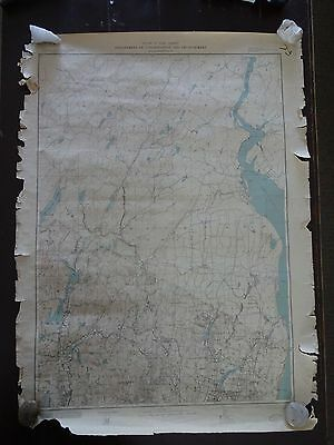 1933 - ANTIQUE Map - State of New Jersey/Dept. of Conservation & Development