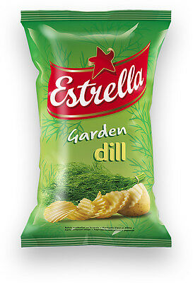 ESTRELLA Garden Dill Potato Chips 75g 2.65oz