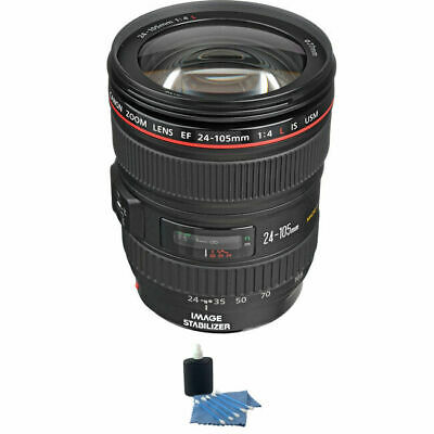 Canon EF 24-105mm f/4L IS USM Lens w/Cleaning Kit