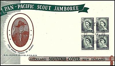 Auckland New Zealand Souvenir Cover Pan-Pacific Scout Jamboree