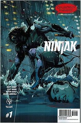 NINJAK #1 Collector's Paradise EXCLUSIVE VARIANT Cover VALIANT COMICS VEI