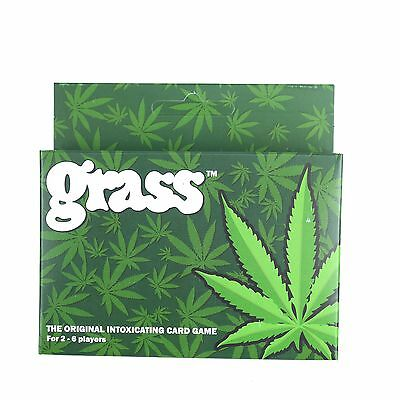 GRASS CARD GAME - The Original = Adults in Serious Negotiation!