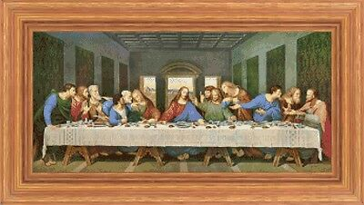 Schema punto croce ULTIMA CENA - Colori DMC - CROSS STITCH CHART