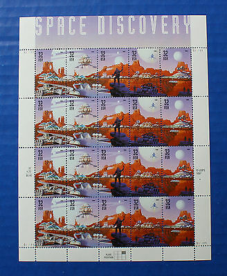 United States (#3238-3242) 1998 Space Discovery MNH sheet