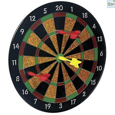 Toysmith Magnetic Dart Board Kids Children Game Family Play Fun Time + 6 Darts