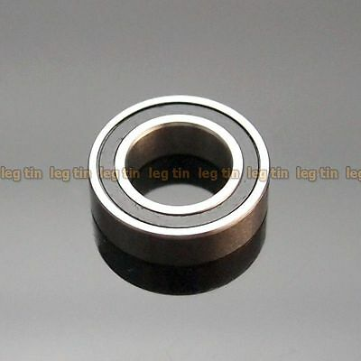 [10pcs] MR148-2RS MR148 RS 8x14x4 mm (Black) Rubber Sealed Ball Bearing Bearings