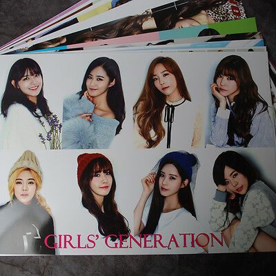K-POP SNSD Girls' Generation 12cut (12PCS) Posters Collection Bromide New 2015 !