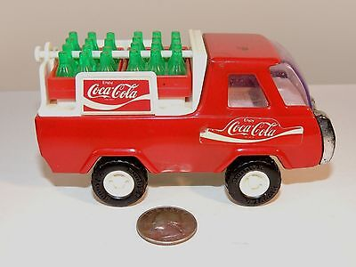 Coca-Cola Buddy L Delivery Truck Made in Japan over 4 inches long (8575)