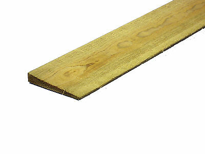 10 Pack Feather Edge Close Boards Fencing Wood Fencing 1.8M (6Ft) X 15Cm