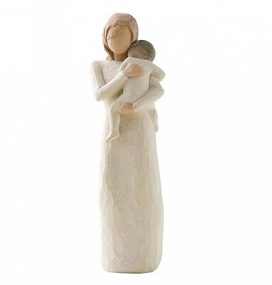 New & Boxed Willow Tree Figurine with Baby 'Child of my Heart #26169 Mothers Day