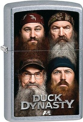 Zippo 2015 Duck Dynasty Faces Of The Robertson Family Members Lighter 28881 NEW