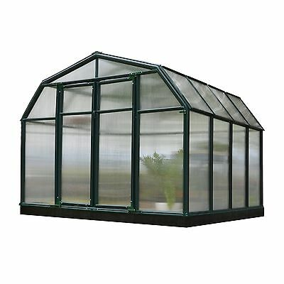Rion Hobby Gardener 2 Twin Wall 8' x 8' Greenhouse (HG7108)