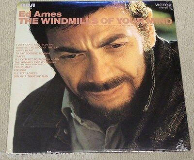 The Windmills of Your Mind by Ed Ames [Vinyl] 1969 RCA Records, Sealed & New