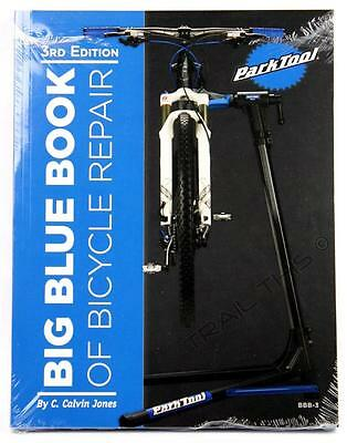 Park Tool BBB-3 Big Blue Book of Bicycle Repair & Maintenance Guide 3rd Edition