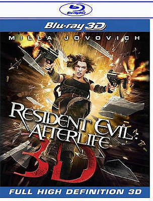 Resident Evil: Afterlife (Blu-ray Disc, 2010, 3D) Brand New 043396366008
