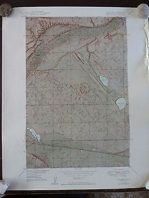 1954 - ANTIQUE Topographic Map of VOLTAIRE QUADRANGLE - N. Dakota-McHenry Co.