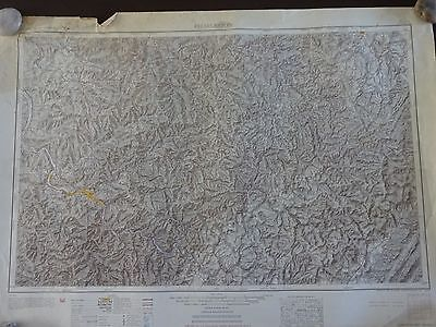 1953 - ANTIQUE Topographic Map of CHARLESTON, WEST VIRGINIA