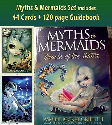 Myths & Mermaids Oracle Water Cards Becket-Griffith 44 cards + 120pg guide NIB