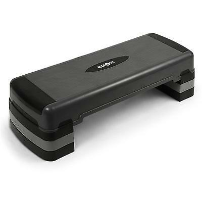 Sturdy Aerobic Fitness Stepper By Klarfit Workout Step 3 Heights Adjustable