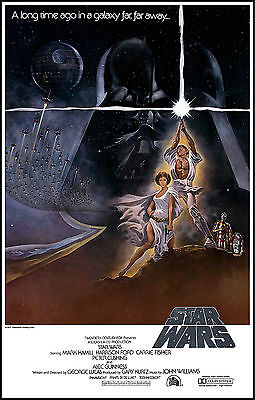 Star Wars Original Vintage Movie SWVM01 GIANT LARGE WALL Poster A0 A1,A2,A3,A4