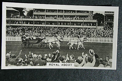 Royal Ascot  Vintage Early 1930's Photo Card   VGC / EXC