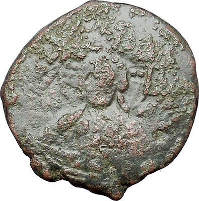 JESUS CHRIST Class A2 Anonymous Ancient 1028AD Byzantine Follis Coin i47610
