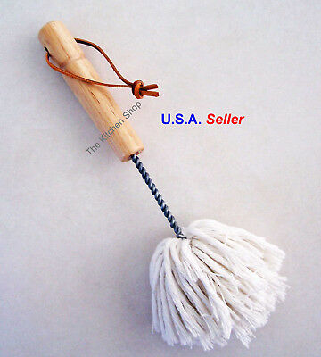 """BBQ Basting Mop Grill Slop Mop Brush Barbecue Griling Sauce Mop 10"""" New"""