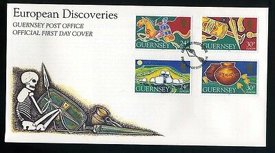 1994  Guernsey First Day Cover  - European Discoveries