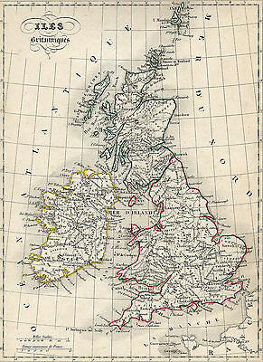 Vintage Great Britain Map VGBM01 Giant Large Wall Art Pic Poster A1,A2,A3,A4