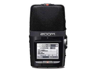 ZOOM handy recorder H2n Linear PCM Digital Audio Portable JAPAN With tracking