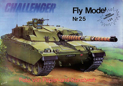 FLY Model  25 - Panzer Challenger - 1:25