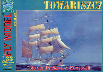 "FLY Model 133 - Segelschulschiff ""Towariszcz"" - 1:100"