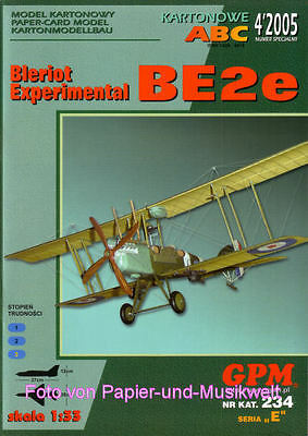 GPM 234 - Doppeldecker Bleriot Experimental BE-2e - 1:33