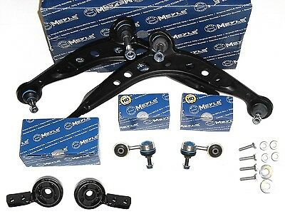 Bmw 3 Series E30 1982-94 Meyle Front Suspension Arm Kit &  Anti Roll Bar Links