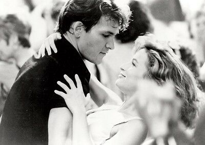 Dirty Dancing Patrick Swayze Awesome Dance BW Poster